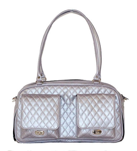 Quilted Marlee Bag | Lilac