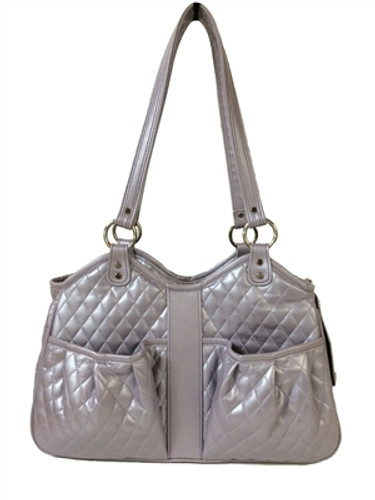 Quilted Luxe Metro Pet Carrier Lilac | 3 Sizes