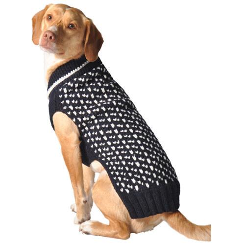Navy Crew Dog Sweater