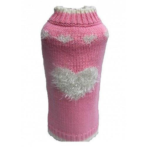 Sweetheart Dog Sweater | Pink