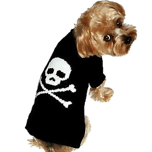 Jolly Roger For Him Dog Sweater