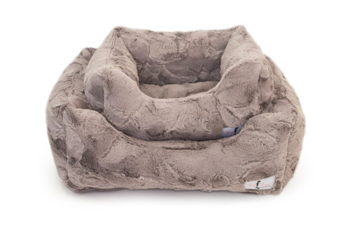 Lux Dog Bed | Taupe