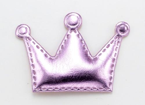 Light Pink Crown Dog Hair Bow