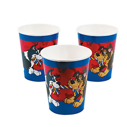 Pup Party Beverage Cups