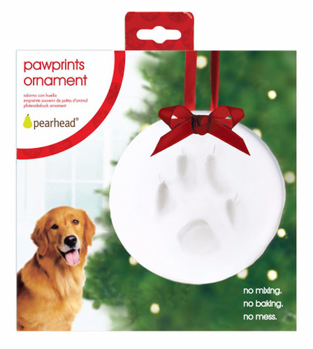 Paw Prints Ornament Keepsake