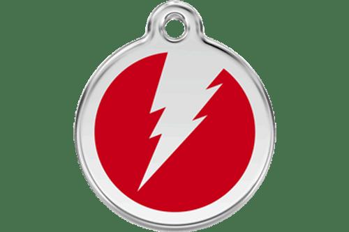 Enamel Flash ID Tag