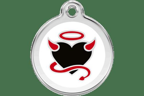 Enamel Dog ID Tag | Devil