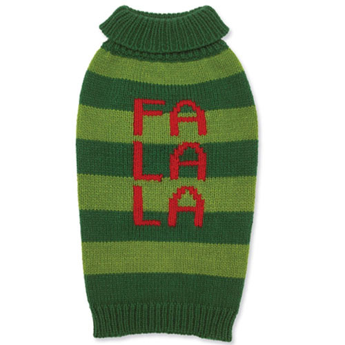 Fa La La Dog Sweater