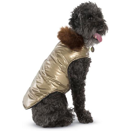 Aspen Puffer Coat | Gold