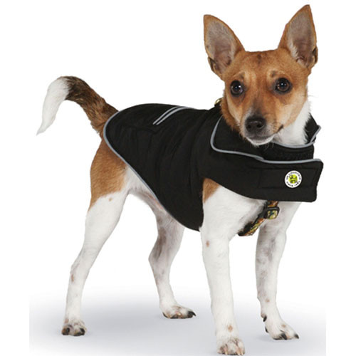 Sport Puffer Dog Coat | Black
