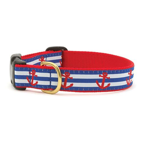 Anchors Away Dog Collar