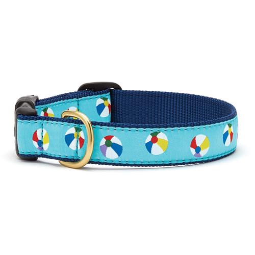 Beach Balls Dog Collar