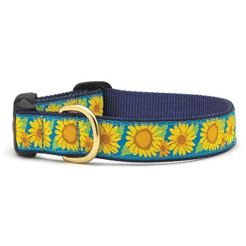 Bright Sunflower Dog Collar