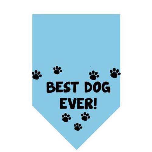 Best Dog Ever Pet Bandana | Blue