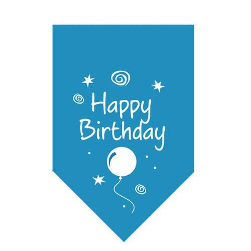 Bandana | Happy Birthday | Blue