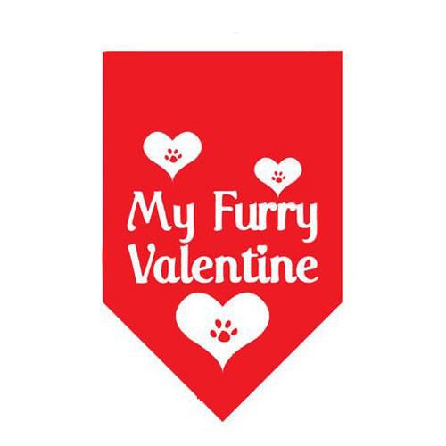 My Furry Valentine Pet Bandana