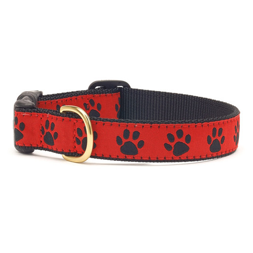 Red Paws Dog Collar