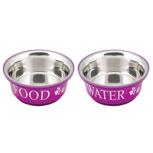 Food & Water Bowls | Fuchsia