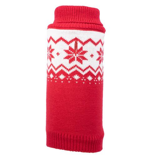 Fairisle Snowflake Dog Sweater