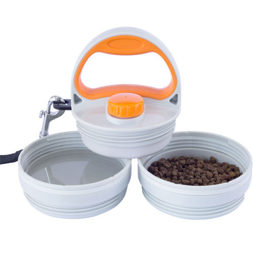 Pet Dinette & Leash