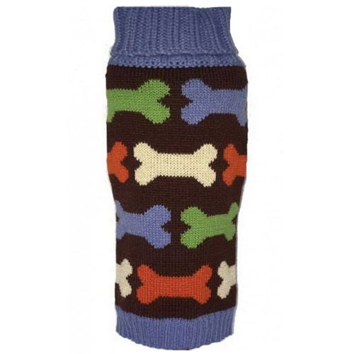 Bones Dog Sweater