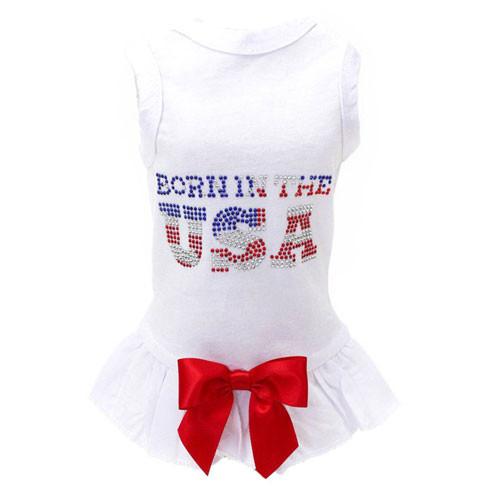 Born in the USA Tank Dress
