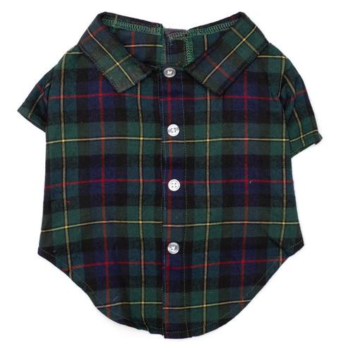 Worthy Dog Shirt | Macleod Tartan Shirt