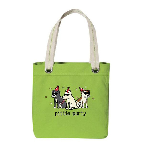Canvas Tote | Pittie Party