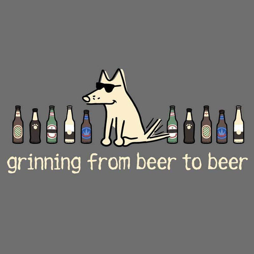 Grinning From Beer to Beer T-Shirt