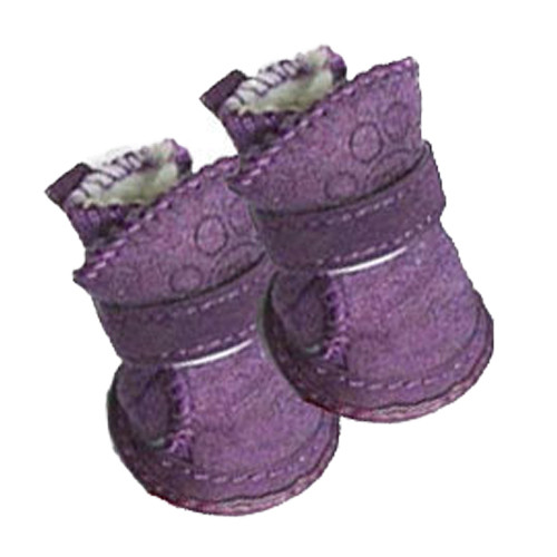 Pawgglys Dog Boots | Purple