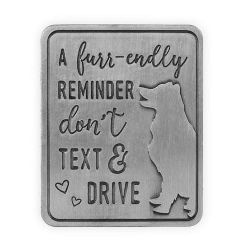 Pawsitive Visor Clip | Don't Text & Drive