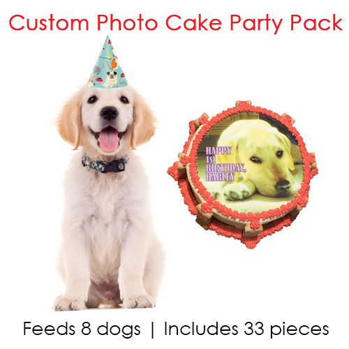 Custom Photo Cake Party Pack