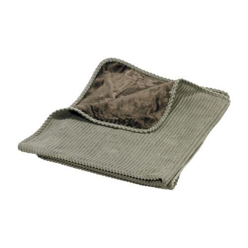 Sage Luxury Dog Throw Blanket