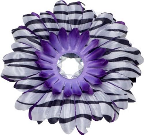 Purple Zebra Collar Bud