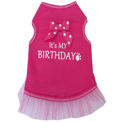 Its My Birthday Tank Dress