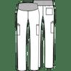 Cherokee Maternity Straight Leg Pant (WW220)