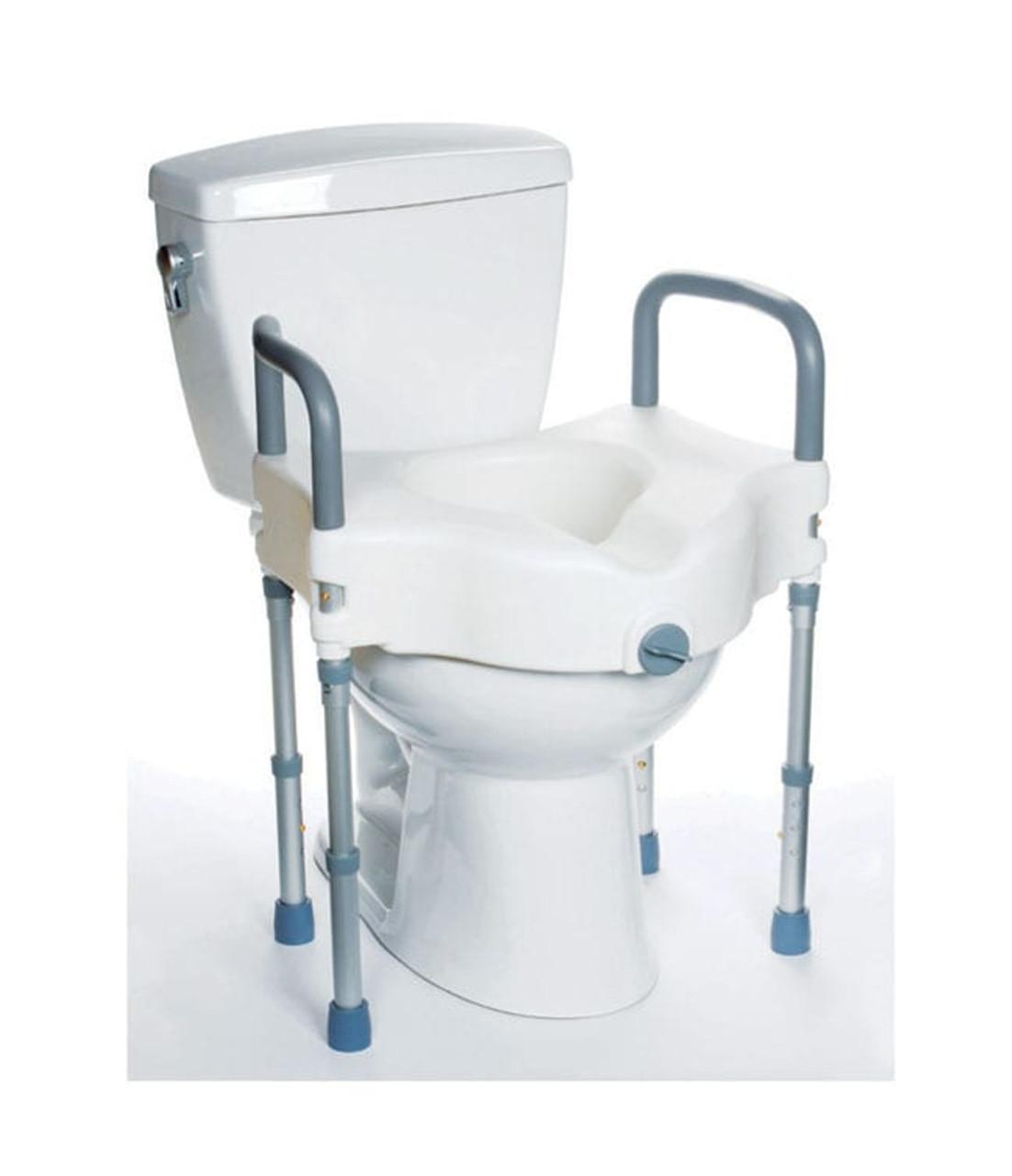 Fantastic Raised Toilet Seat With Legs Frankydiablos Diy Chair Ideas Frankydiabloscom