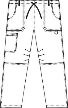 412P - Women Cargo Pants Image 2