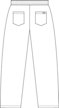Scrub Depot - Chef Pants Image 2