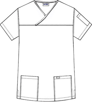 523T - scrub Top