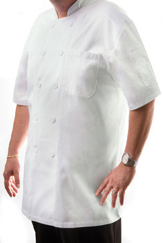 Short Sleeve Chef Coat (CC550)