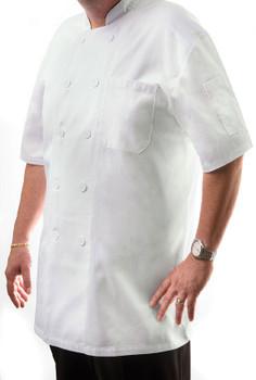 Short Sleeve Chef Coat (CC550)