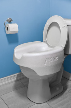 LooEase Adaptable Raised Toilet Seat