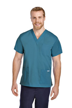 310T - Nursing Uniforms Unisex Scrub Top
