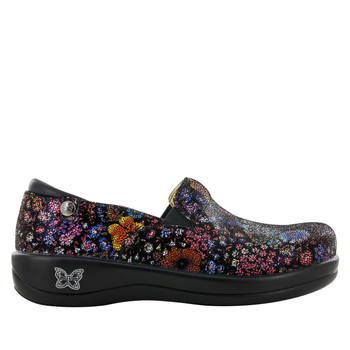 Alegria Keli Shoe in Midnight Garden