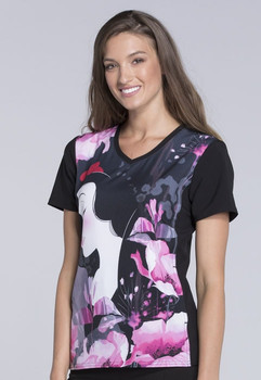 Clearance Tooniforms Snow White Disney Print Top (TF627-PRRR)