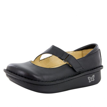 Dayna Black Nappa Professional Shoe