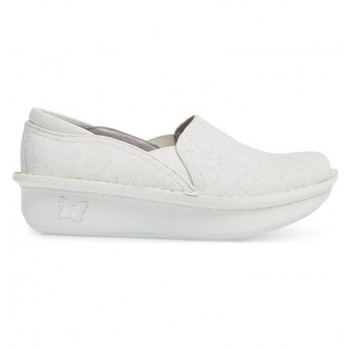 Clearance Debra Morning Glory White Shoe