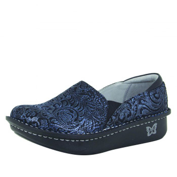 Debra Navy Swish Shoe