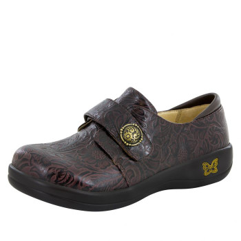 Joleen Molasses Tooled Professional Shoe